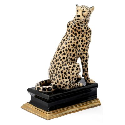 Cheetah bookend left by Abhika