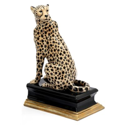 Cheetah bookend right by Abhika