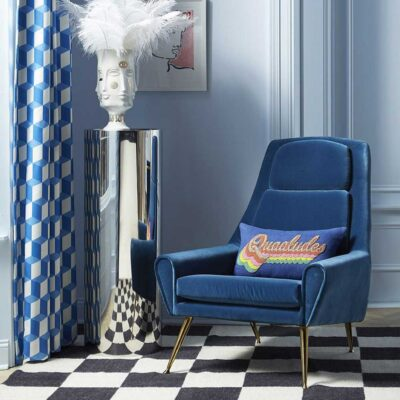 Quaaludes Beaded Pillow by Jonathan Adler