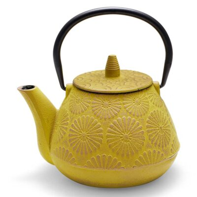 Sakai Yellow Cast Iron Teapot by Neavita