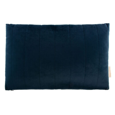 Akamba cushion savanna velvet night blue by Nobodinoz