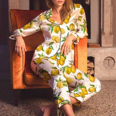 Alegria Lemon Pyjama by Averie Sleep