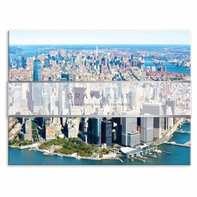 Gray Malin New York 500 Piece Double Sided Puzzle