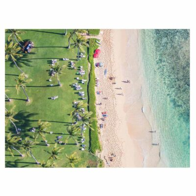 Gray Malin two sided hawaii puzzle 500 pieces