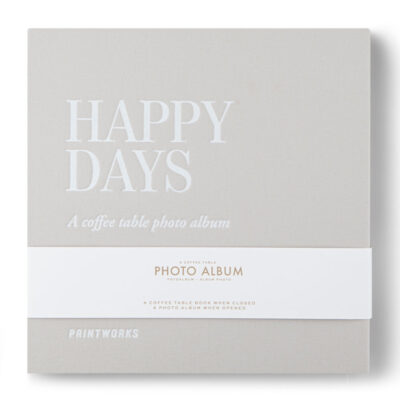 Happy days photo album by Printworks
