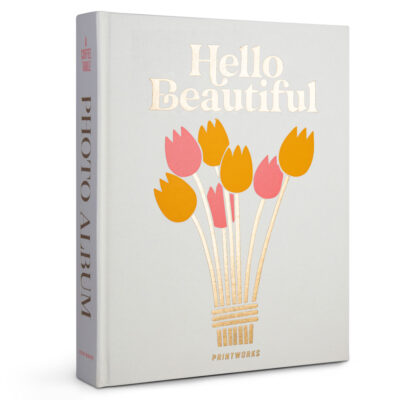 Hello Beautiful photo album by Printworks