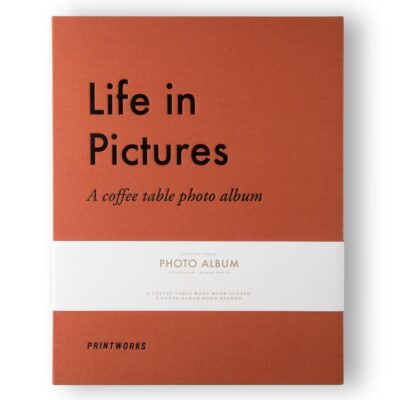 Life in picture photo album by Printworks
