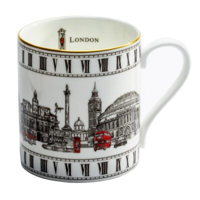 London icons mug by Halcyon days