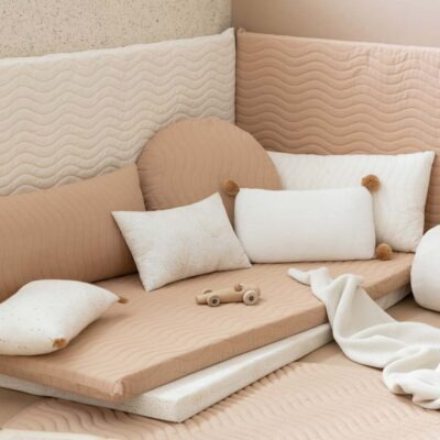 Monaco floor mattress nude by Nobodinoz