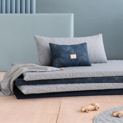 Monaco floor mattress riviera blue by Nobodinoz