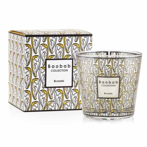 My first baobab Brussels candle by Baobab collection
