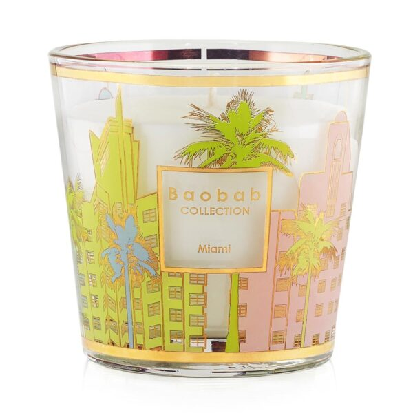 My first baobab Miami candle by Baobab collection