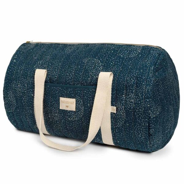 New york weekend bag gold bubble night blue by nobodinoz