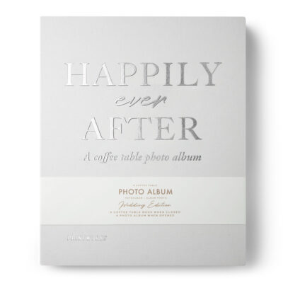 Photo Album Happily ever after ivory by Printworks