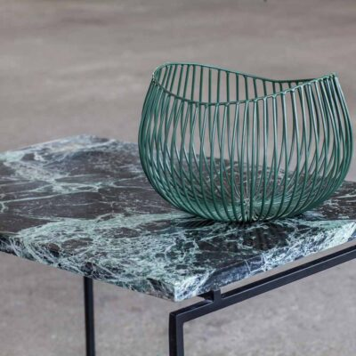 Side table green Dialect by Serax