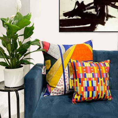 Sixties Cube 60x60 cm cushion cover by F.Roze