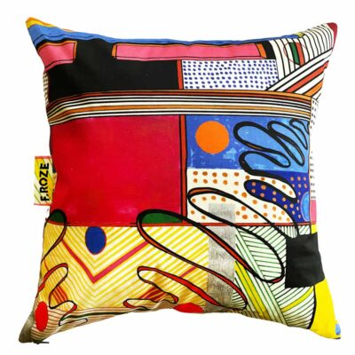 Sixties Squiggle 60x60 cm cushion cover by F.Roze
