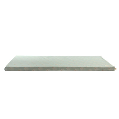 St Barth floor mattress white gatsby antique green by Nobodinoz