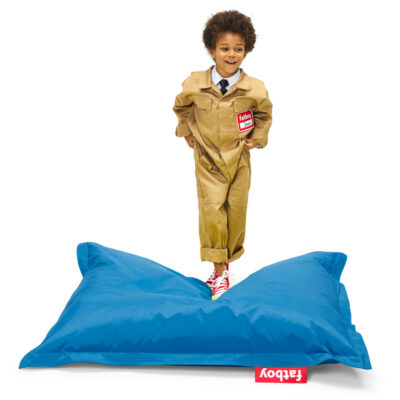 The original Junior petrol beanbag by Fatboy