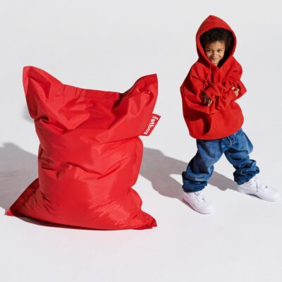 The original Junior red beanbag by Fatboy