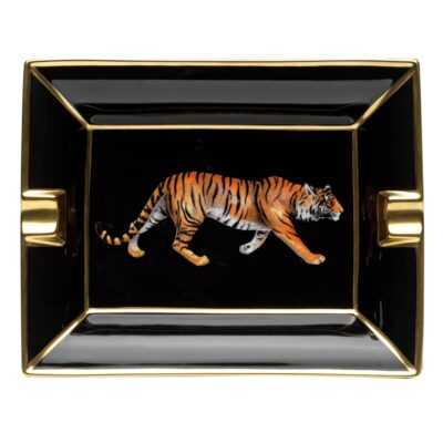 Tiger ashtray by Halcyon Days