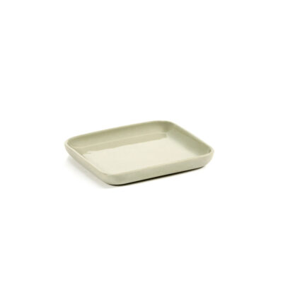 Tray square beige Cose by Bertrand Lejoly Serax