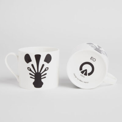 animal mug Zebra by EO