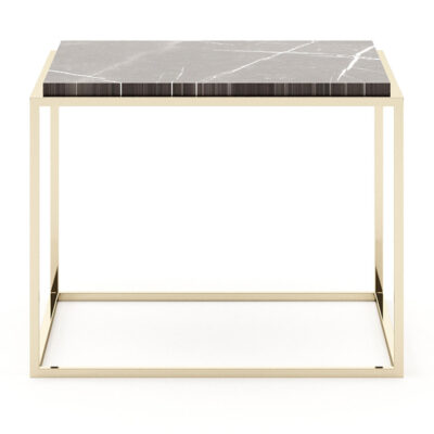 aura side table marble top by Laskasas
