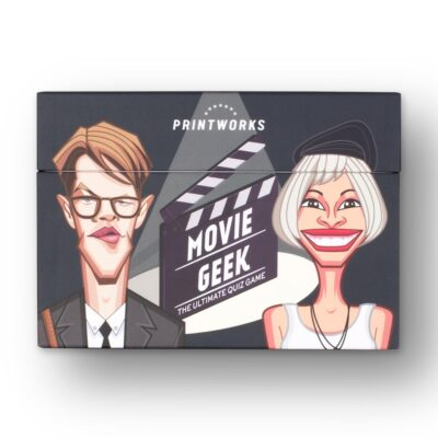 trivia game movie geek by Printworks