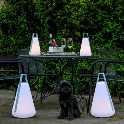 B Bulb outdoor portable light by Extreme Lounging