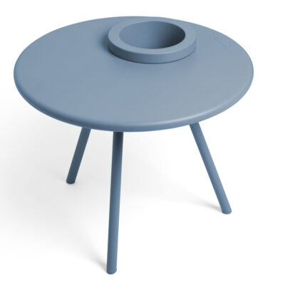 Bakkes side table calcite blue by Fatboy