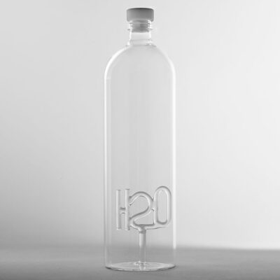 H2O Bottle with stopper by Serax