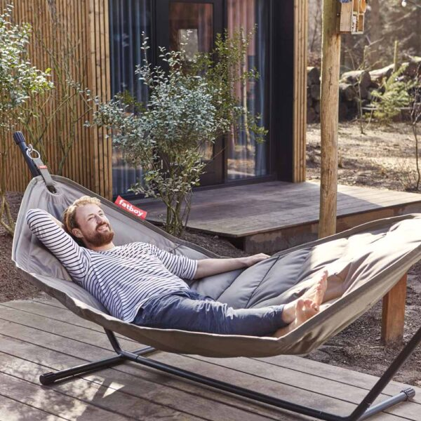 Headdemock Deluxe Hammock Taupe by Fatboy