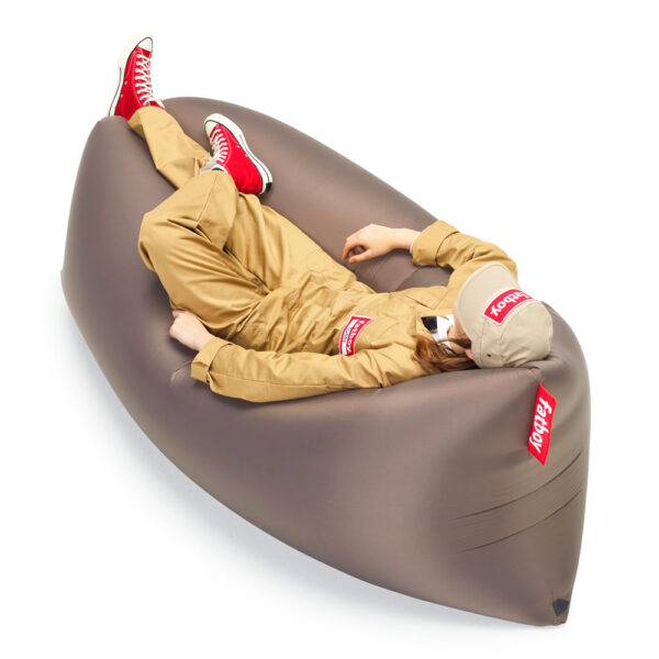 Lamzac Air lounger 2.0 Taupe by Fatboy