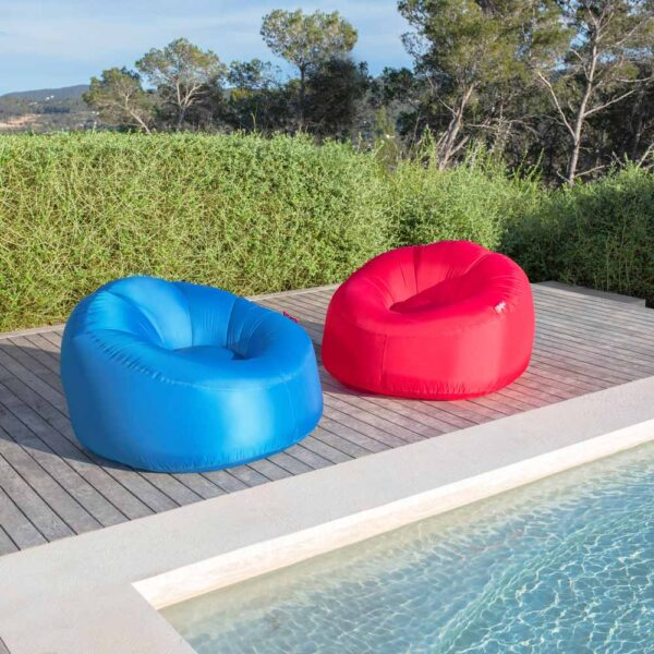 Lamzac O Inflatable seat 2.0 Red by Fatboy