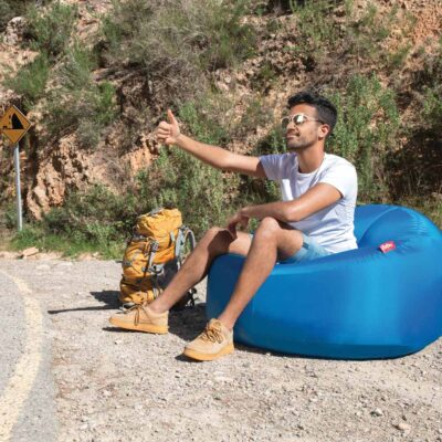 Lamzac O Inflatable seat 3.0 sky blue by Fatboy