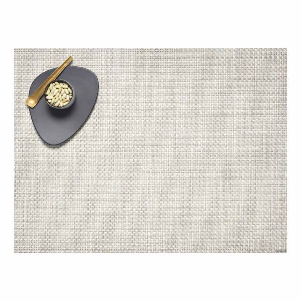 Placemat basketweave rectangle bnatural by Chilewich