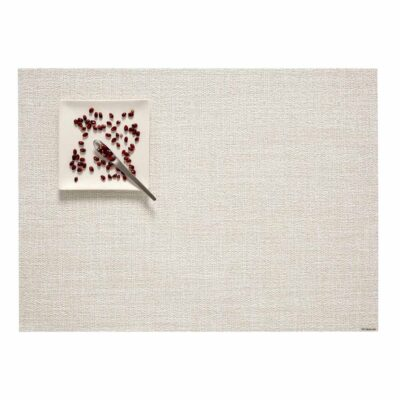 Placemat boucle rectangle marshmallow by Chilewich