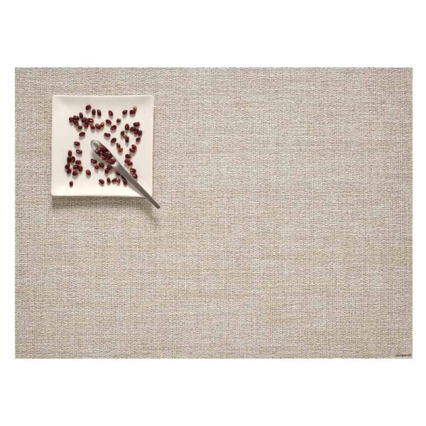 Placemat boucle rectangle natural by Chilewich