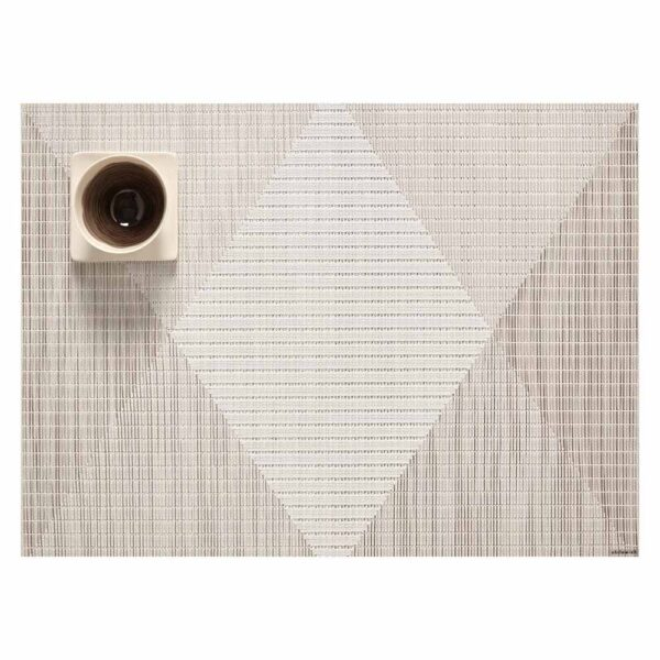 Placemat signal rectangle natural by Chilewich