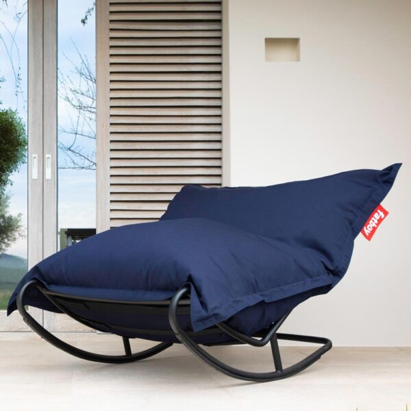 Rock n Roll Rocking chair anthracite by fatboy