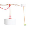 Thierry le Swinger hanging red by Fatboy