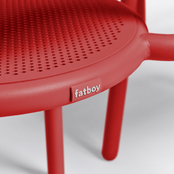 Toni armchair 2pcs red by Fatboy
