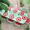 Toni tablo outdoor rectangular table mist green by fatboy