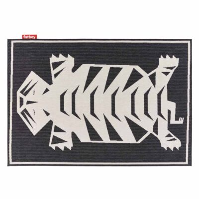 carpretty Nottazebroh outdoor rug black by fatboy
