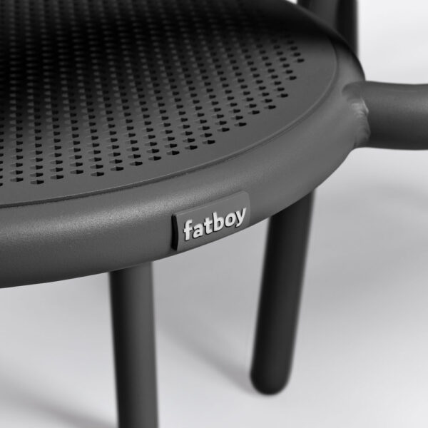 toni outdoor chair anthracite 2pcs by Fatboy