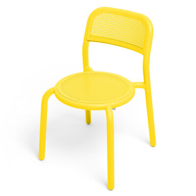 toni outdoor chair yellow 2pcs by Fatboy