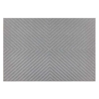 Antibes light grey arrow rug by Asiatic Rug