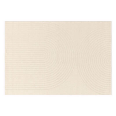 Antibes white deco rug by Asiatic Rug