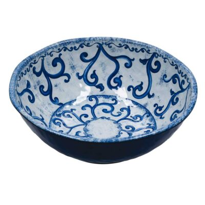 Blue Salad bowl by Rose & Tulipani